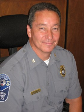 Picture of Rick Lauderman, Chief of Virginia Marine Police