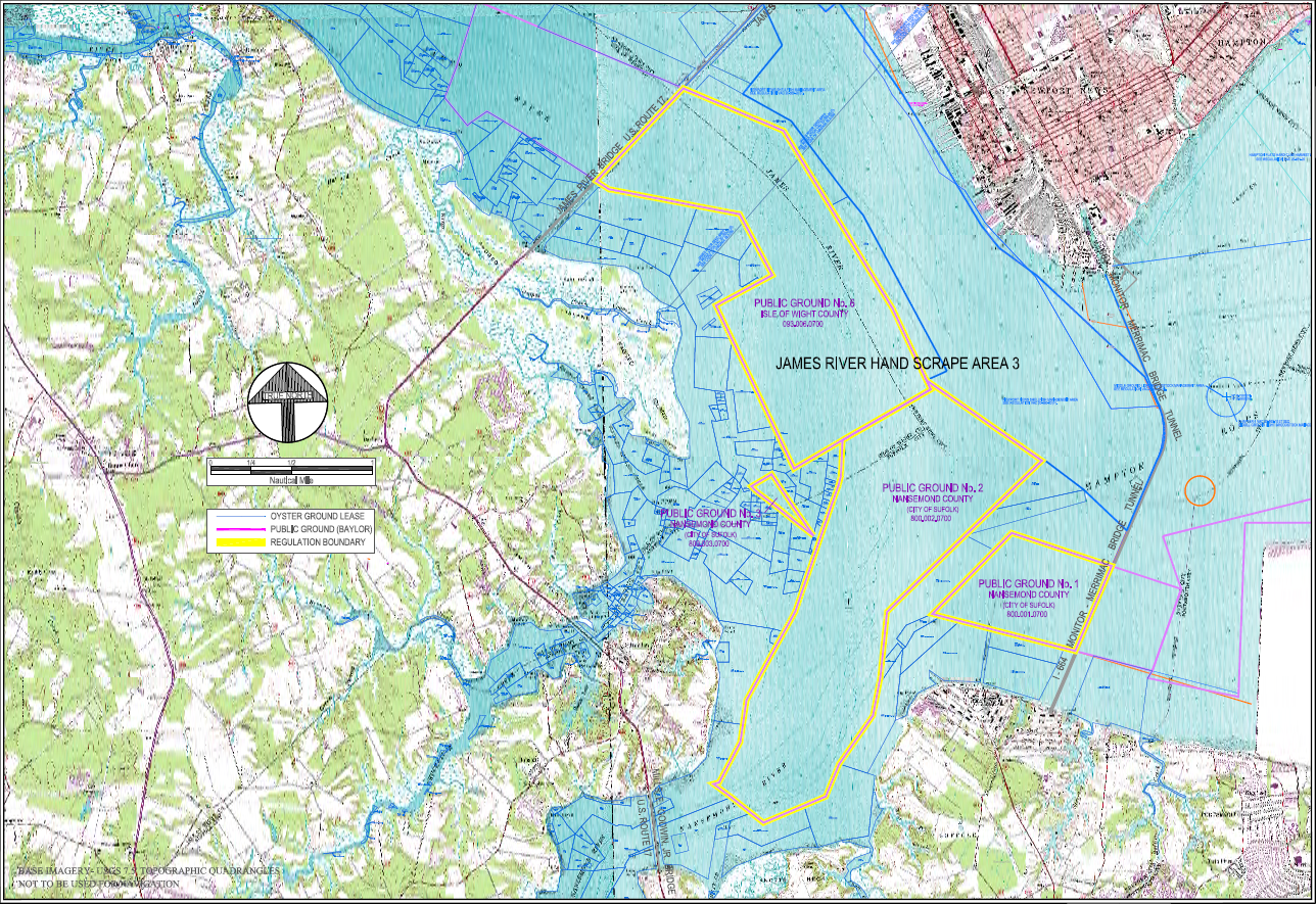 James River Us Map.Chapter Pertaining To Restrictions On Oyster Harvest