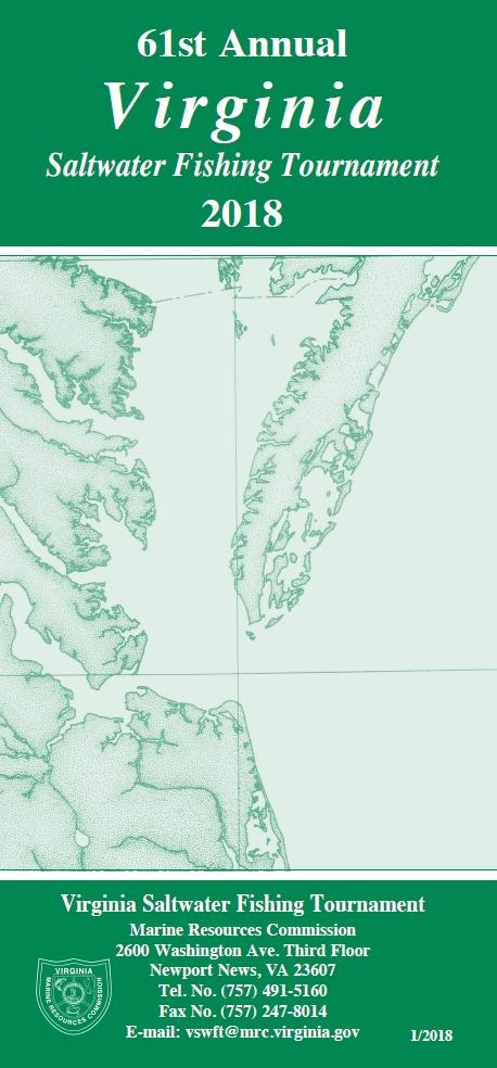 Saltwater fishing tournament for Va saltwater fishing regulations 2017